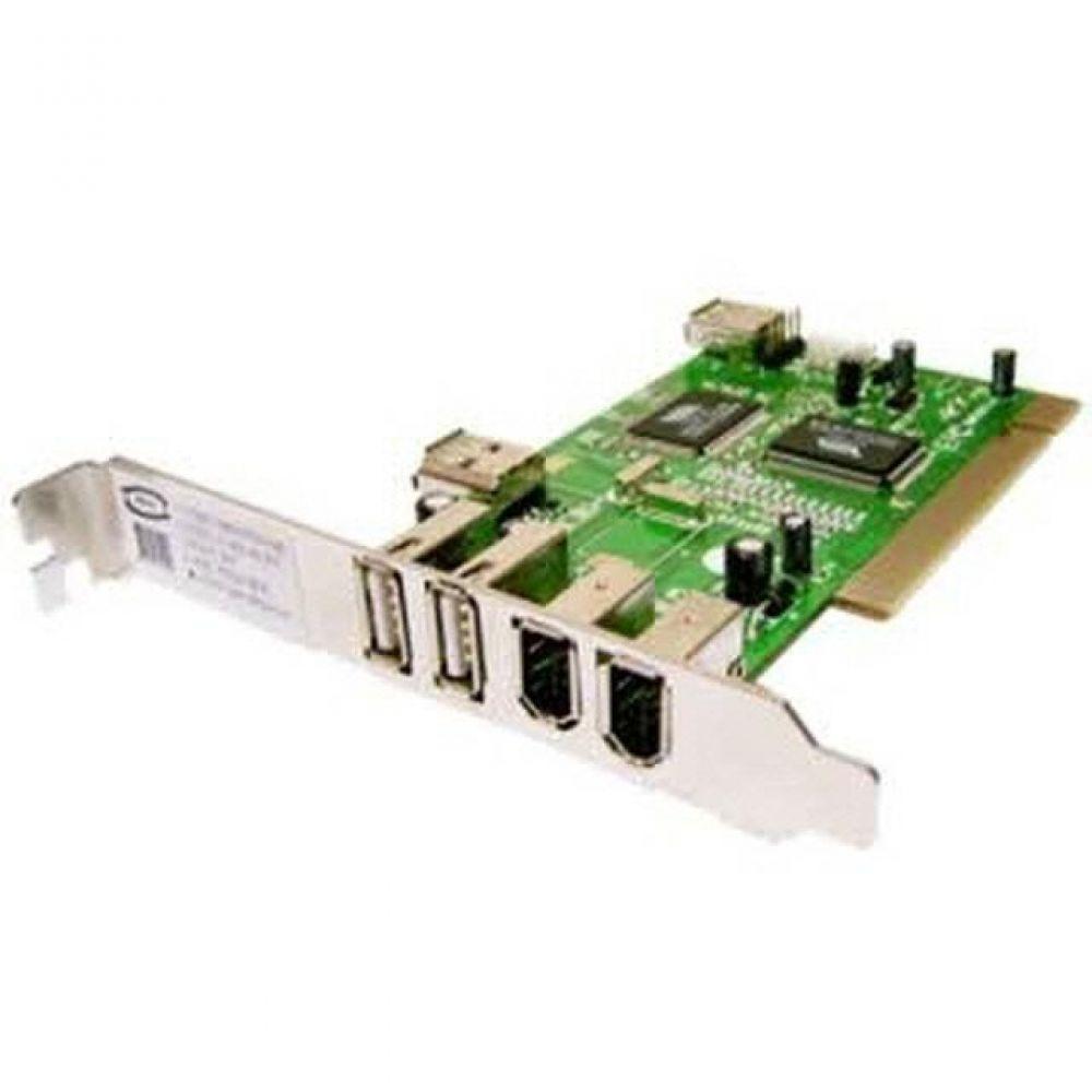 IQS077549[3일이내출고]PCI USB 1394 콤보 카드 (USB2.0/2포트)(1394/2포트) 컨트롤러, 1