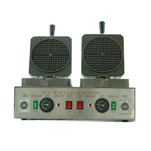 일반 아메리칸 사각 2구 와플기계 WPR-450T, 와플기계 WPR-450T+와플거치대+포장박스