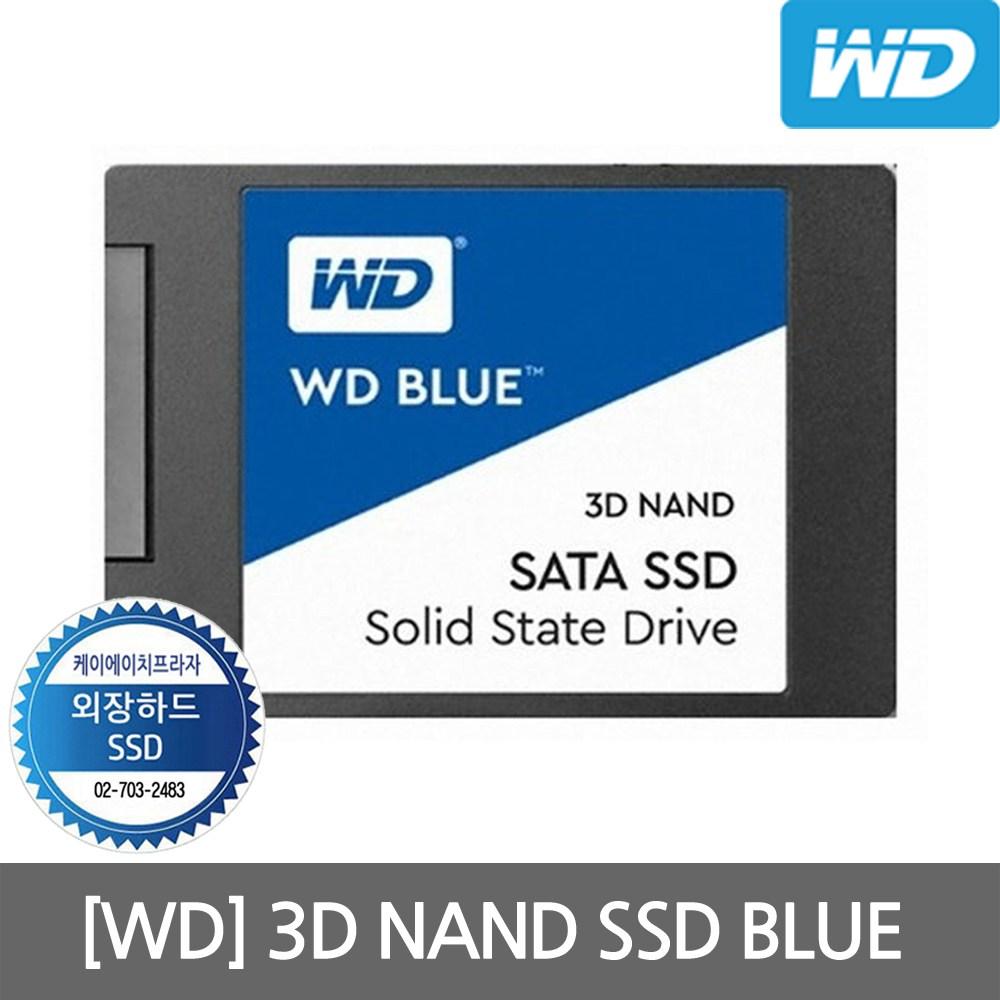 WD Blue 3D SSD 250GB 2.5인치 노트북용 컴퓨터용, 단일상품, 단일상품