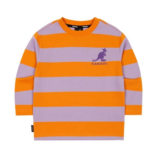 [갤러리아] 캉골키즈와이드 스트라이트 티셔츠 0107 오렌지