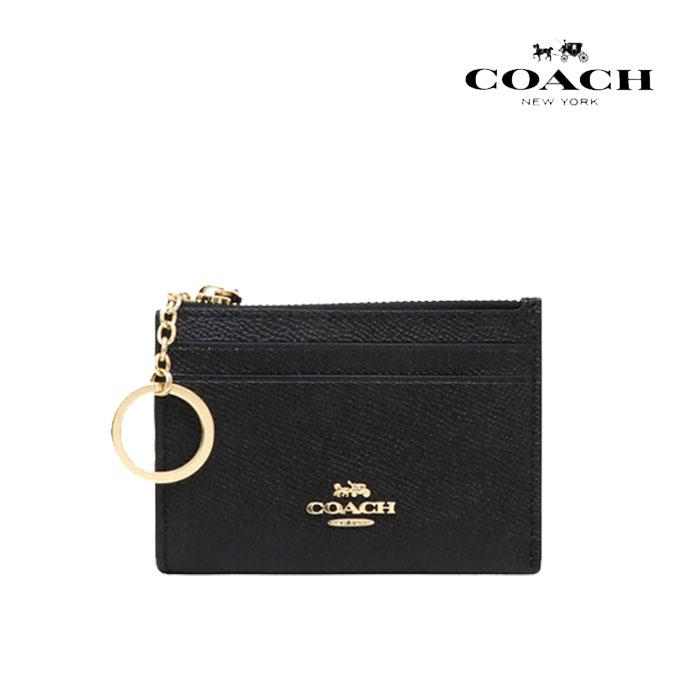 COACH 코치지갑 F88250 IMBLK 카드지갑