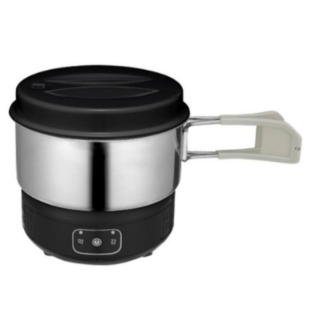 매직쉐프 미니 인덕션 쿠커 핫플레이트 전기냄비, 블랙