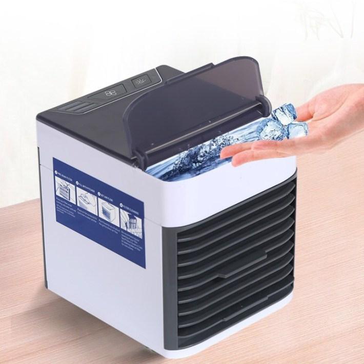 ARCTIC Air 에어쿨러 2세대 탁상용 냉풍기, 단일 (POP 1816371332)
