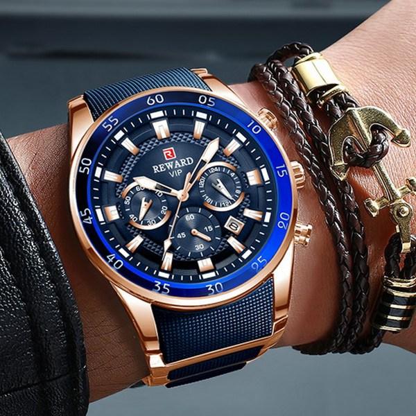 LIGE 바바존 남자시계 손목시계 남자손목시 명품시계 브랜드 남성손목시계 남성시계 1011