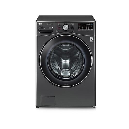 LG전자 F21KDD 드럼세탁기 21kg 인버터 DD모터 트루스팀 터보샷 블랙스테인리스, 세탁기/세탁기