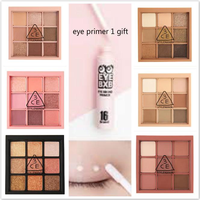 3CE 멀티 아이섀도 컬러 팔레트 6가지 택 1 (eye primer 1개증정), smoother