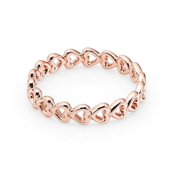 명품 판도라 PANDORA 180177 링크드 러브 로즈 반지