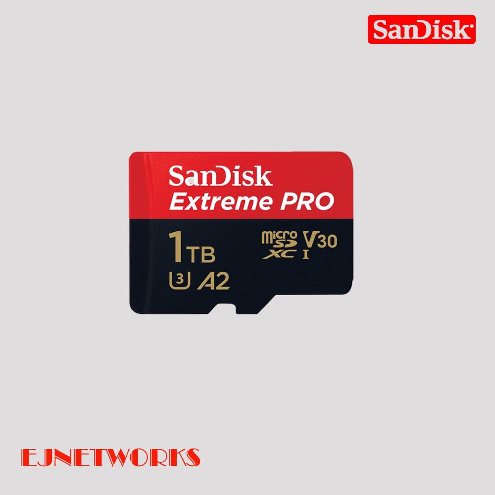 샌디스크 익스트림 프로 마이크로 SD SQXCZ 256GB 400GB, 1TB