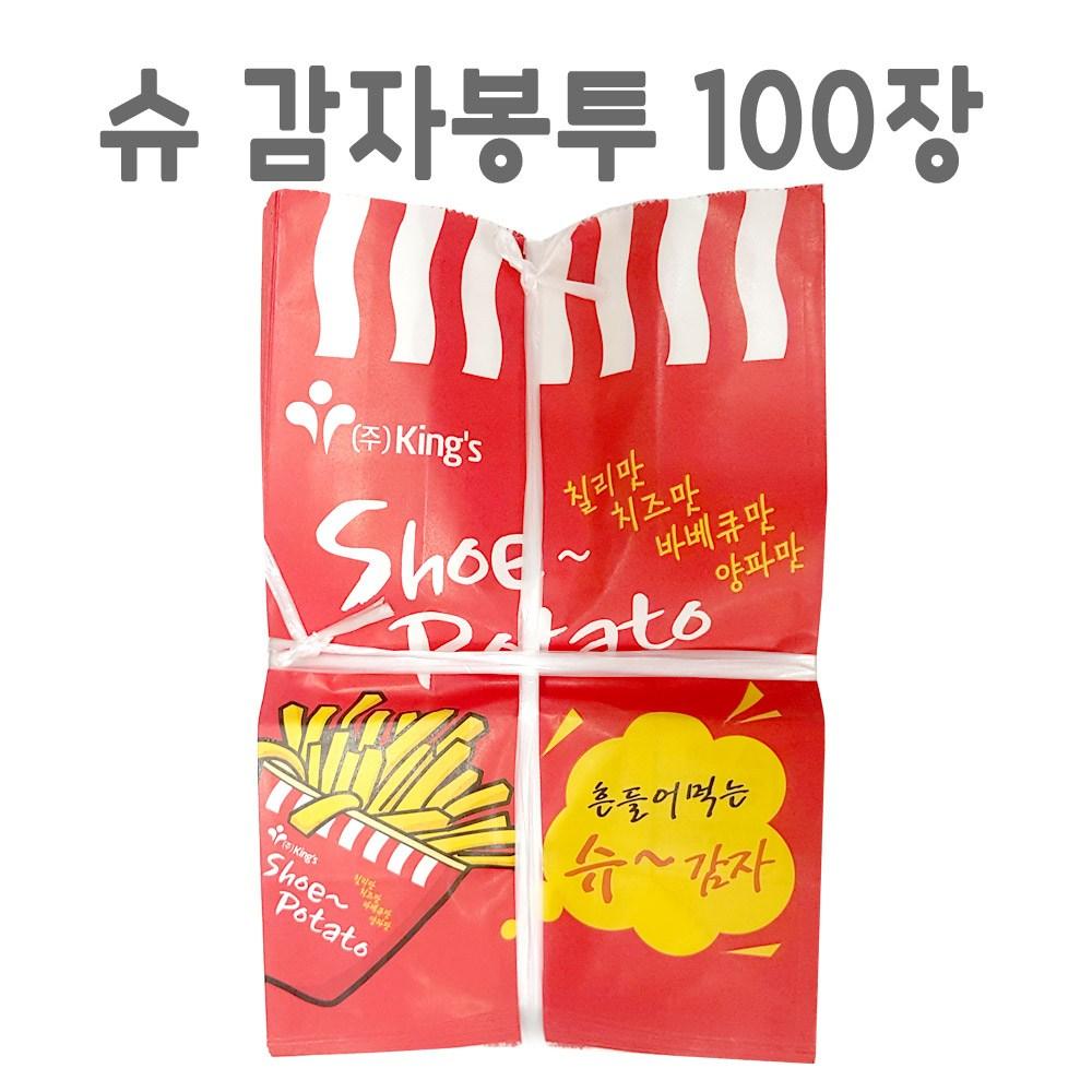 푸드드림 슈 감자용 봉투1묶음 100장, 1팩