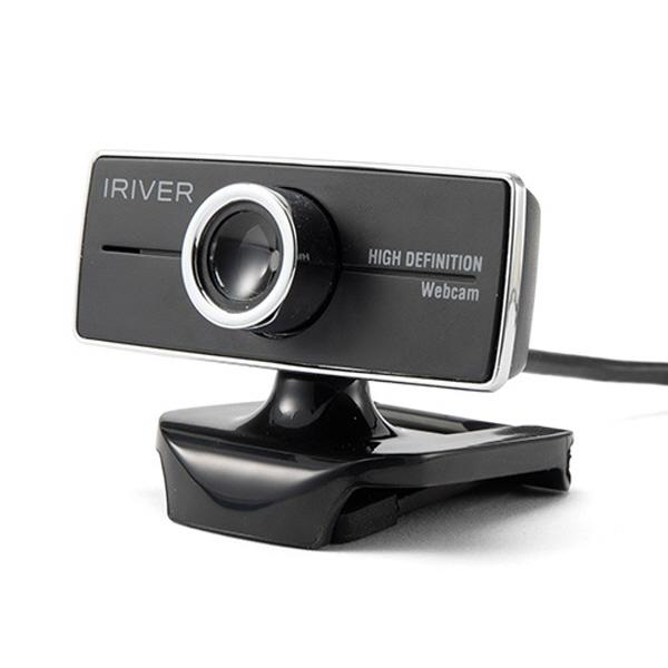 아이리버 웹캠 IPC-HD01 PC카메라, 블랙