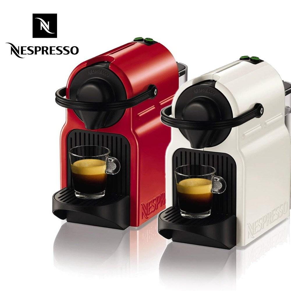네스프레소 커피메이커 이니시아 C40WH C40RE, C40RE(레드)