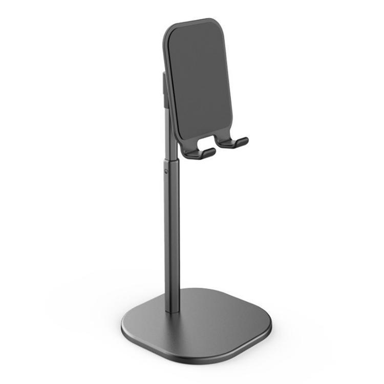 모니터암 사용 아마존 Oasis2/3태블릿 PC금속 알루미늄합금 지지대 국다용도 Kindle Fire7/HD/HD8승강 조절 접지력 보강 핸드폰 테블릿피시 통용, T03-헤드일체형 테이블스탠드 선반(블랙 신축 버전)품질 업그레이드