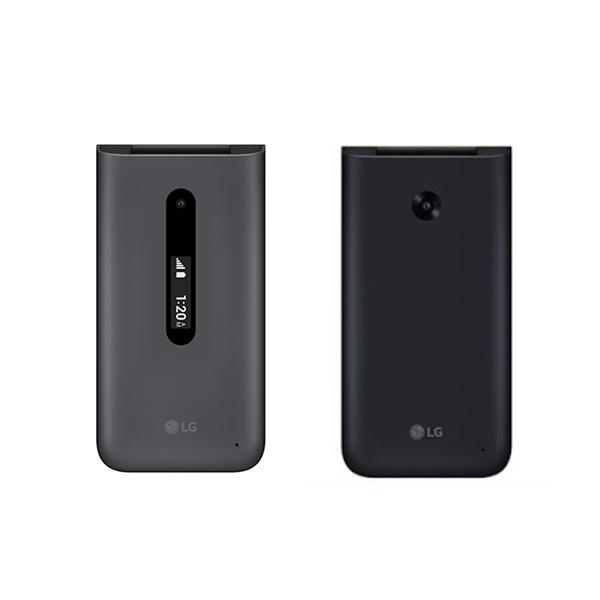 LG 폴더2 Y120 폴더2s Y125 가개통 새제품 공기계, 블랙