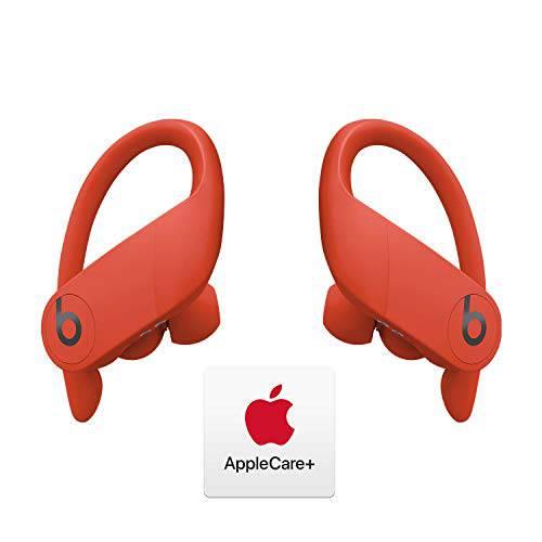 Powerbeats 프로 Totally 무선 이어폰-Apple H1 칩-Lava Red 및 AppleCare +, 상세내용참조