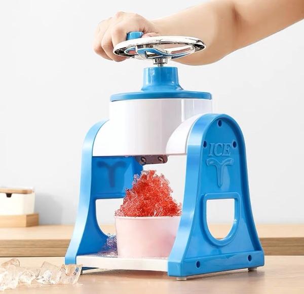 팥빙수 기계 빙삭기 얼음가는 자동 눈꽃 가정용 슬러시 만들기 빙수기, 아이스 쉐이버 3