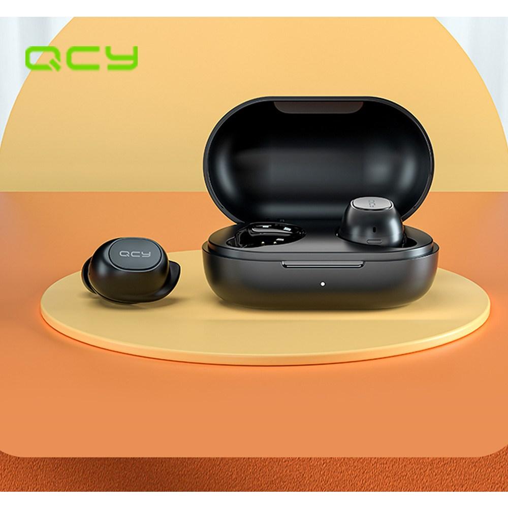 QCY T9S 블루투스 이어폰 2020년 최신 큐시와이 게이밍이어폰