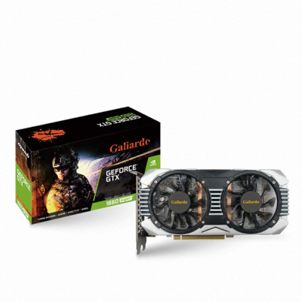 TWO1MALL [MANLI] GeForce GTX 1660 SUPER Gallardo D6 6GB 그래픽카드, 636796
