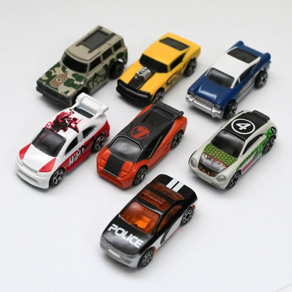 메가블럭 초소형 미니카 7종세트 장난감자동차, 스트리츠미니카 7종세트