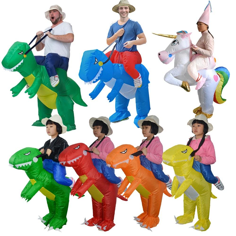"""제이엘 고급형 공룡옷 에어수트 코스튬 할로윈 행사 축제 파티용품 미우새 파티용품></noscript>>분장용품, A06.타는공룡에어수트-그린(L)"""" /></noscript          ></a> </p> <p> <span class="""