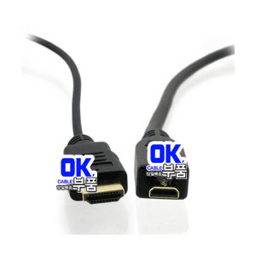 OK부품-케이블/젠더 J10054-2번 Micro HDMI - HDMI 케이블 1.5M (라), 단일상품
