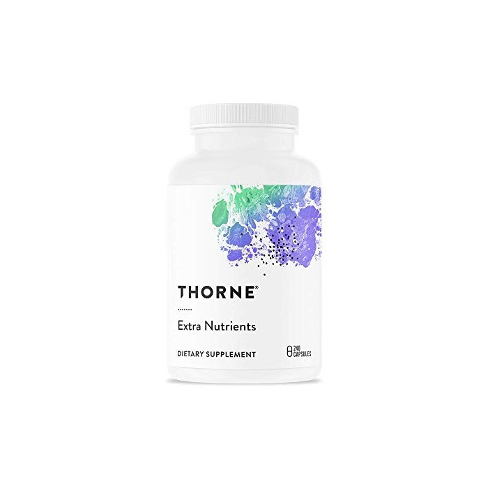Thorne Research Extra Nutrients Multi 비타민 Mineral Supplement for Antioxidant Support 240 Capsules, One Color, Standard Packaging