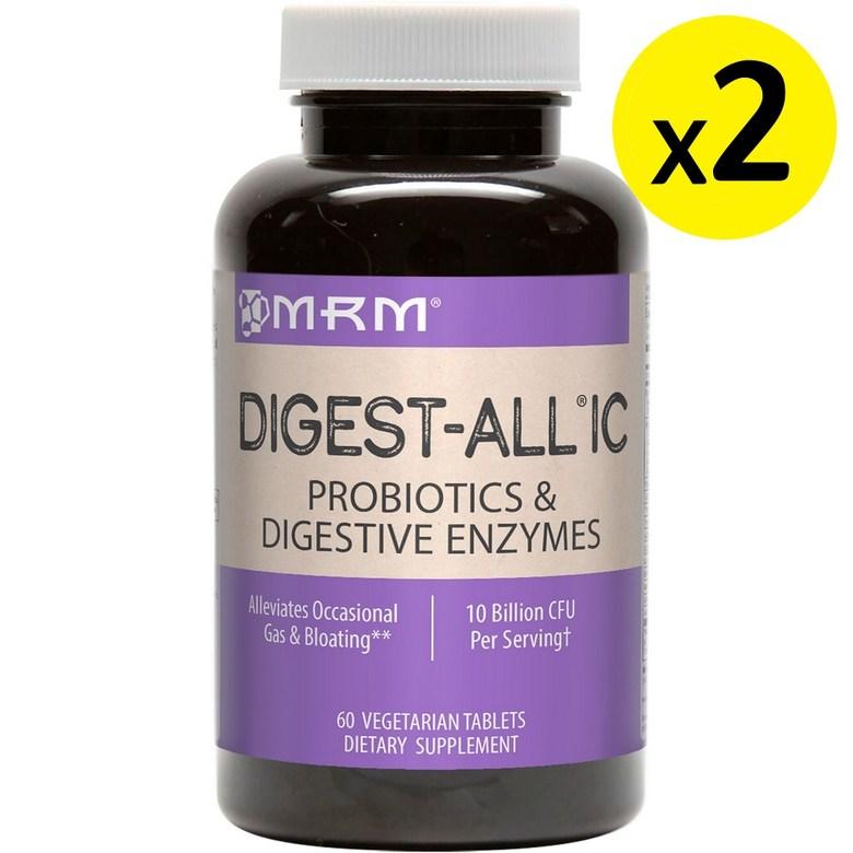[미국직구]MRM Digest-All IC 60정 2개, 상세설명참조