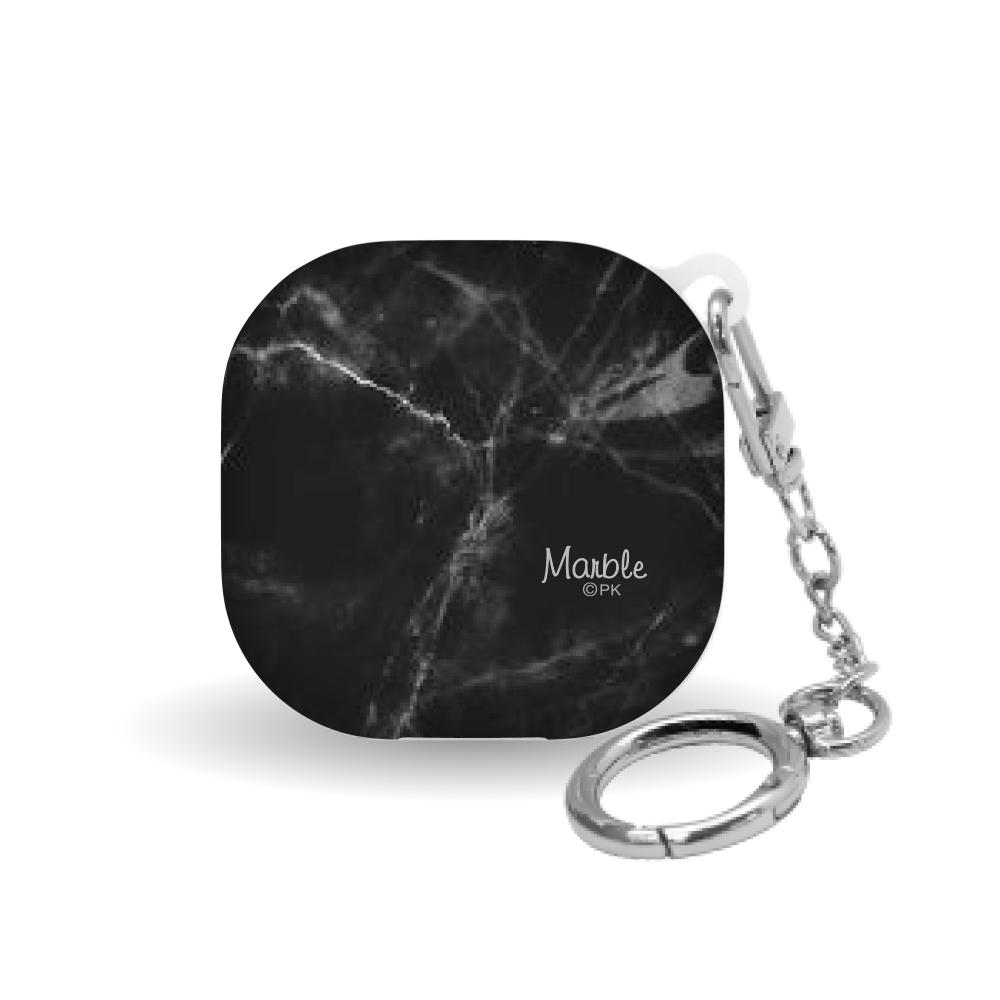 삼성 갤럭시 버즈 라이브 하드 케이스 비접착형 마블 대리석_A, Marble_A