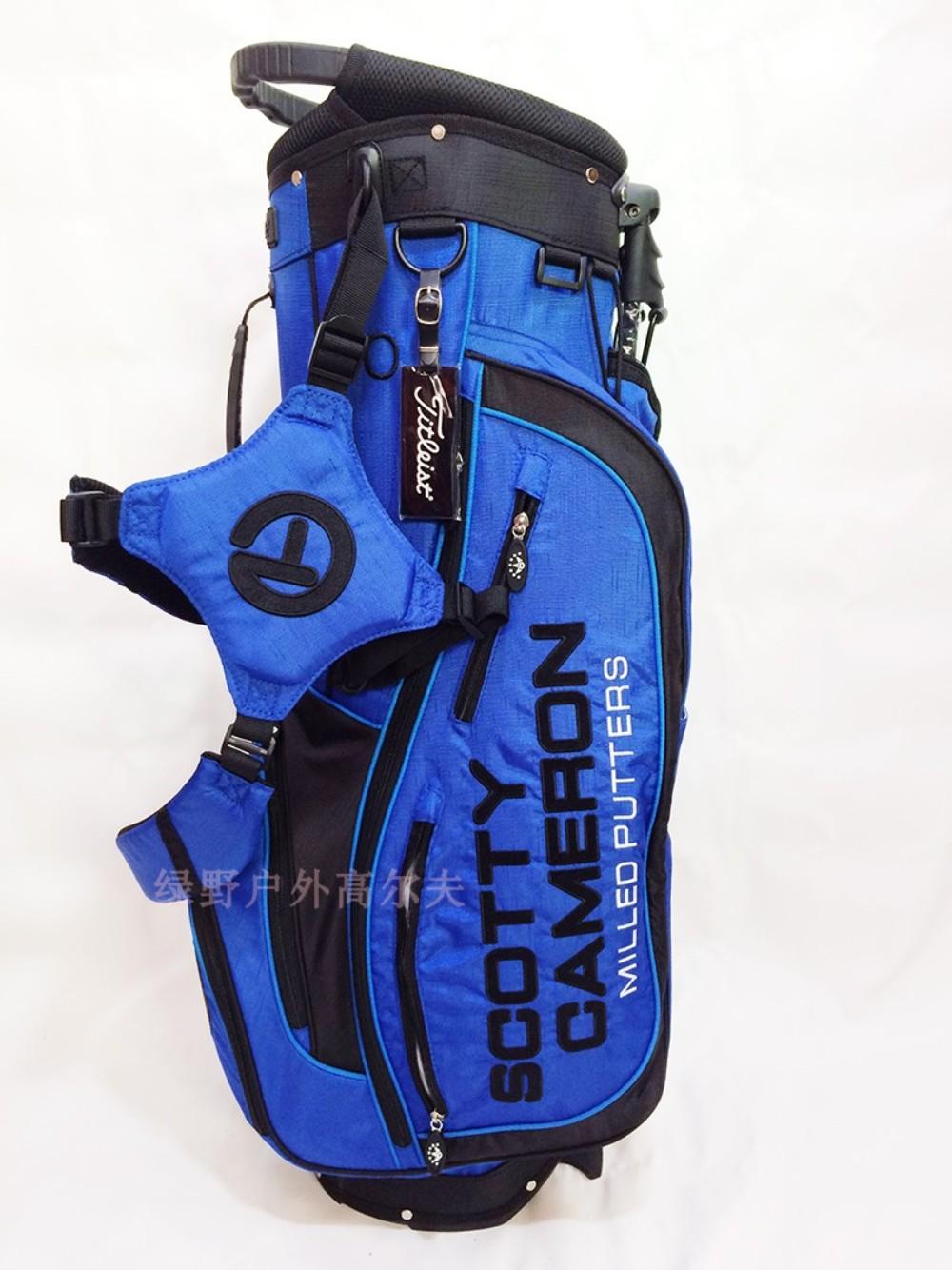 스카티카메론 골프 가방 캐디백 스탠드백 경량 남성용 여성용, 블루