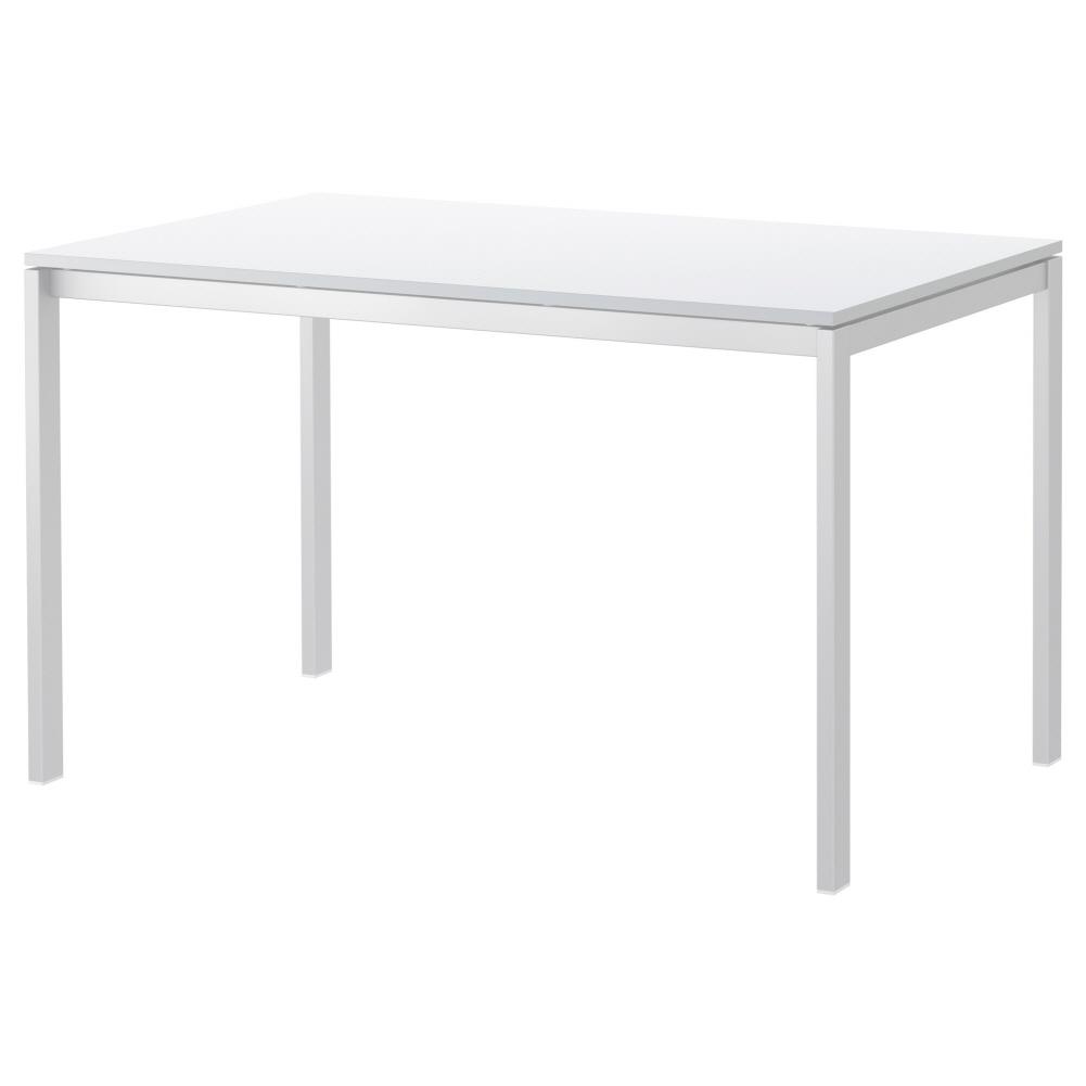 테이블 화이트 멜토르프 125x75 cm, 기본