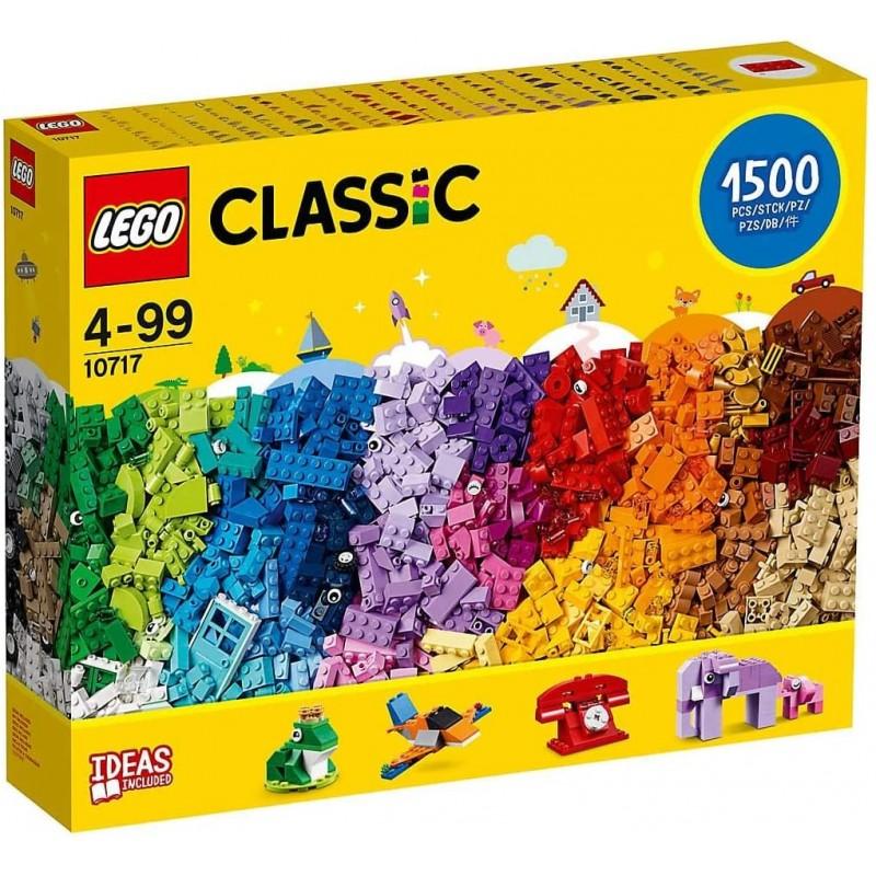 레고 클래식 10717 브릭 브릭 브릭 1500 개 세트-모든 연령대의 창의력 장려-모든 연령대의 크리에이터에게 적합-브릭 분리기, 단일옵션