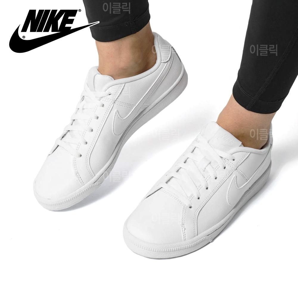 나이키 코트로얄 AC 캔버스 올백 여성 운동화 신발 스니커즈