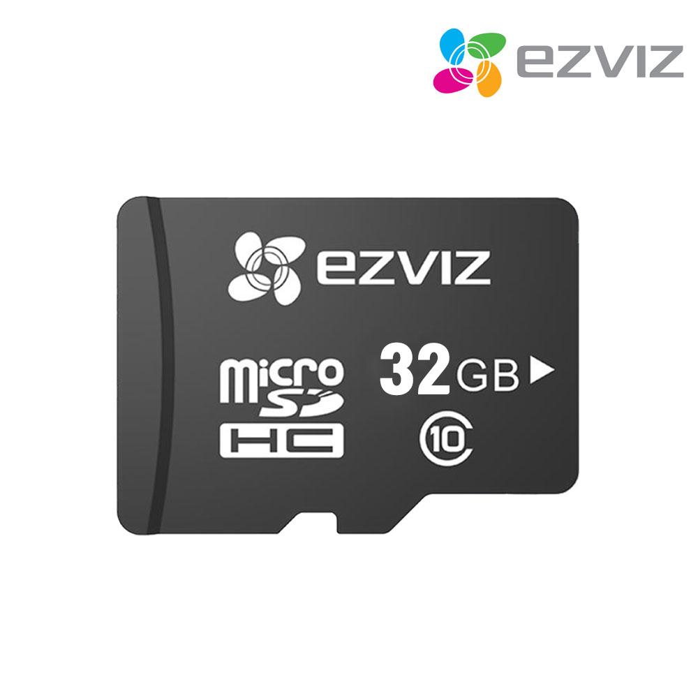 씨씨티비이몰 EZVIZ C3W FULL HD 가정용 홈CCTV 유무선 WIFI 실내 실외 적외선 IR IP카메라 간편 설치 SET 네트워크 카메라, EZVIZ C3W 전용 SD 메모리 카드 32GB