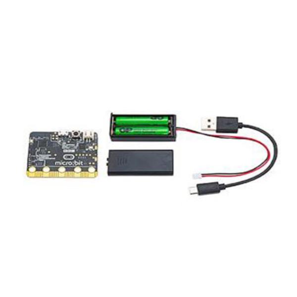 MICRO BIT [대량입고]초소형 코딩용 컴퓨터 마이크로비트 스타터 키트 BBC Microbit GO, 옵션없음