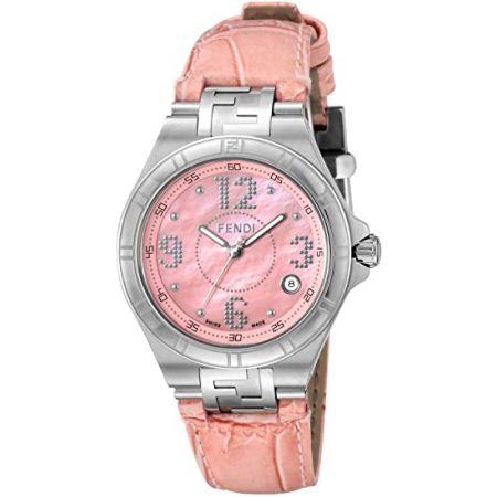 [펜디] 시계 고속 핑크 문자판 F414377 병행 수입품 핑크 9999993342338