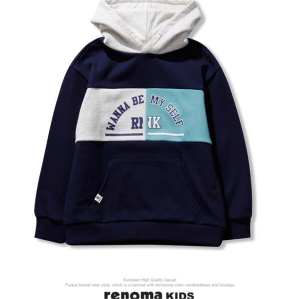 레노마키즈 NC10 가슴배색절개후드티 R2011T109
