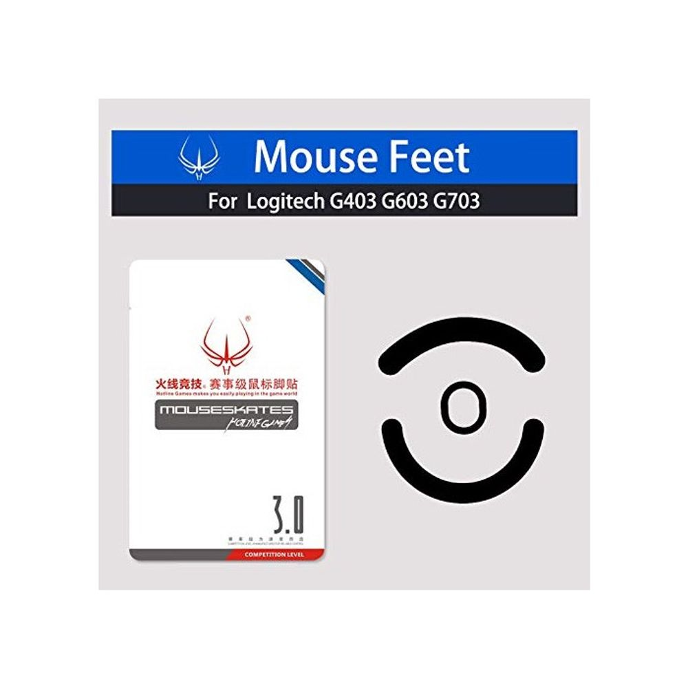 Generic 마우스 Skatez Feet Mice 마우스skates for, 본상품선택, Logitech G403 G603 G703_One Size