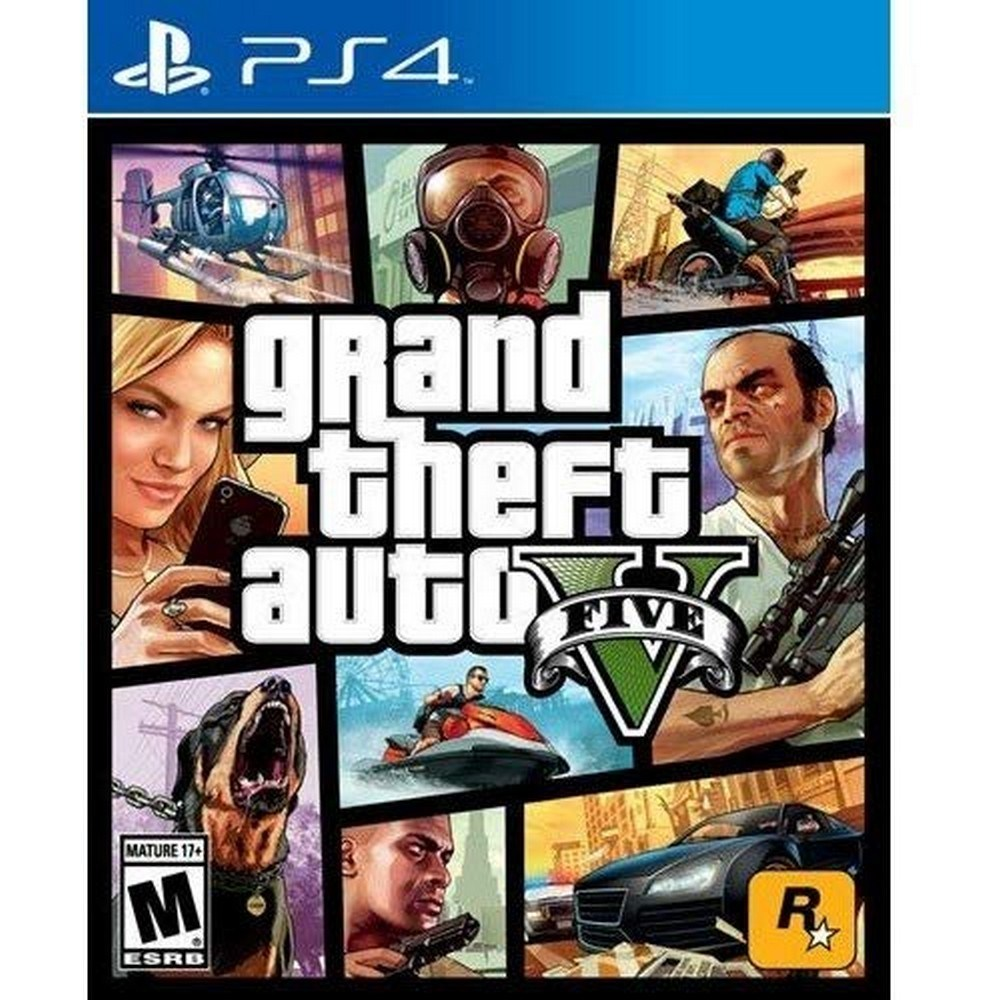 PS4 GTA 5 Grand Theft Auto, 선택1