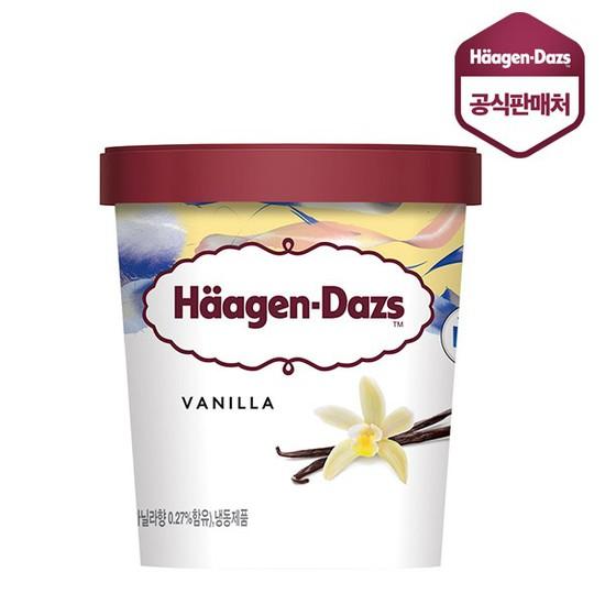 하겐다즈 파인트 바닐라 컵 아이스크림, 473ml, 1개