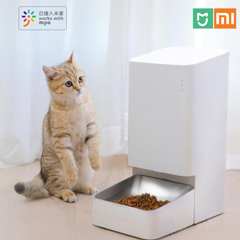 샤오미 미지아 스마트 반려동물 자동 급식기 앱연동