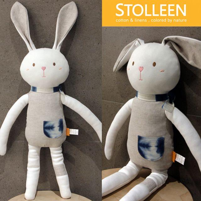 [천삼백케이] [슈톨렌] [슈톨렌 STOLLEEN] 키큰토끼 애착인형, 단품