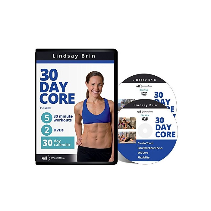 30 Day Core Workout for Moms with Lindsay Brin One Size One Color