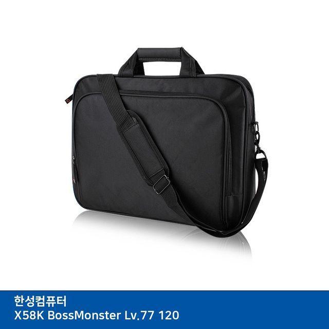 XAW138035가방 BossMonster 노트북 Lv.77 X58K 한성컴퓨터 (T) 120, 단일옵션