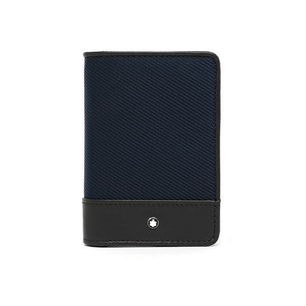 명품 MONTBLANC 몽블랑 116790 나이트플라이트 시그니처 카드지갑(네이비)