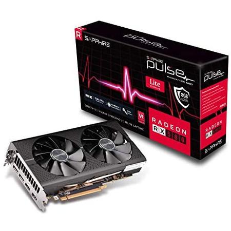 해외550022771 그래픽카드 Sapphire Technology Sapphire 11265-67-20G Radeon Pulse RX 580 8GB GDDR5 Du, 상세 설명 참조0