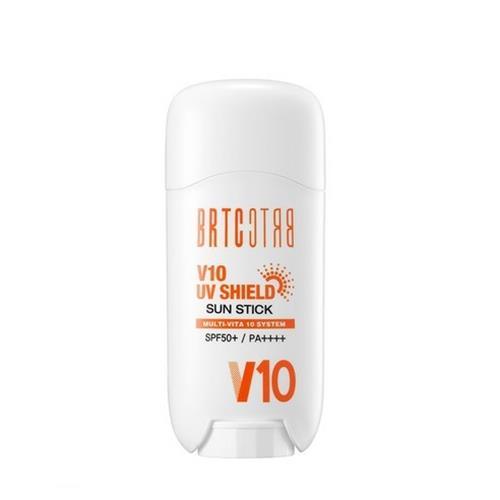 비알티씨 V10 유브이 쉴드 SPF50+ PA++++ 선스틱, 16g, 2개