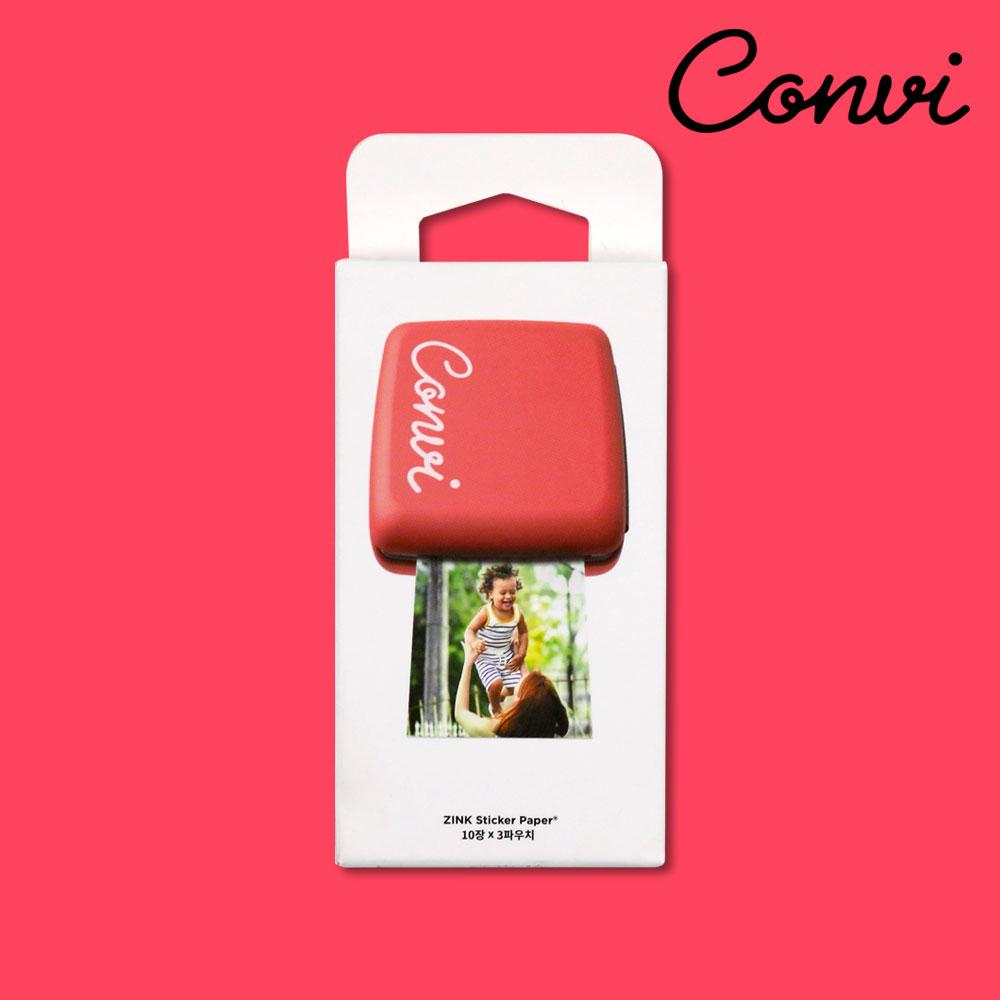 콘비 모바일 포토프린터 전용 인화지 30매, 단품