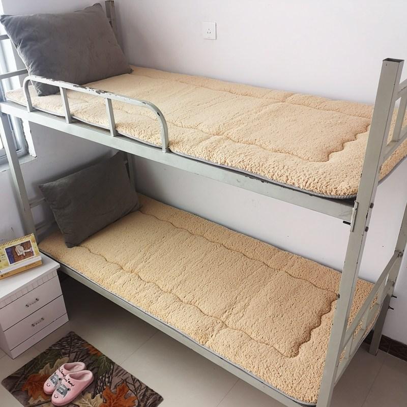 토퍼 템퍼 매트리스 침구 기타 싱글 학생 기숙사 털 퍼 다운 침대 요, AA_90 x 190