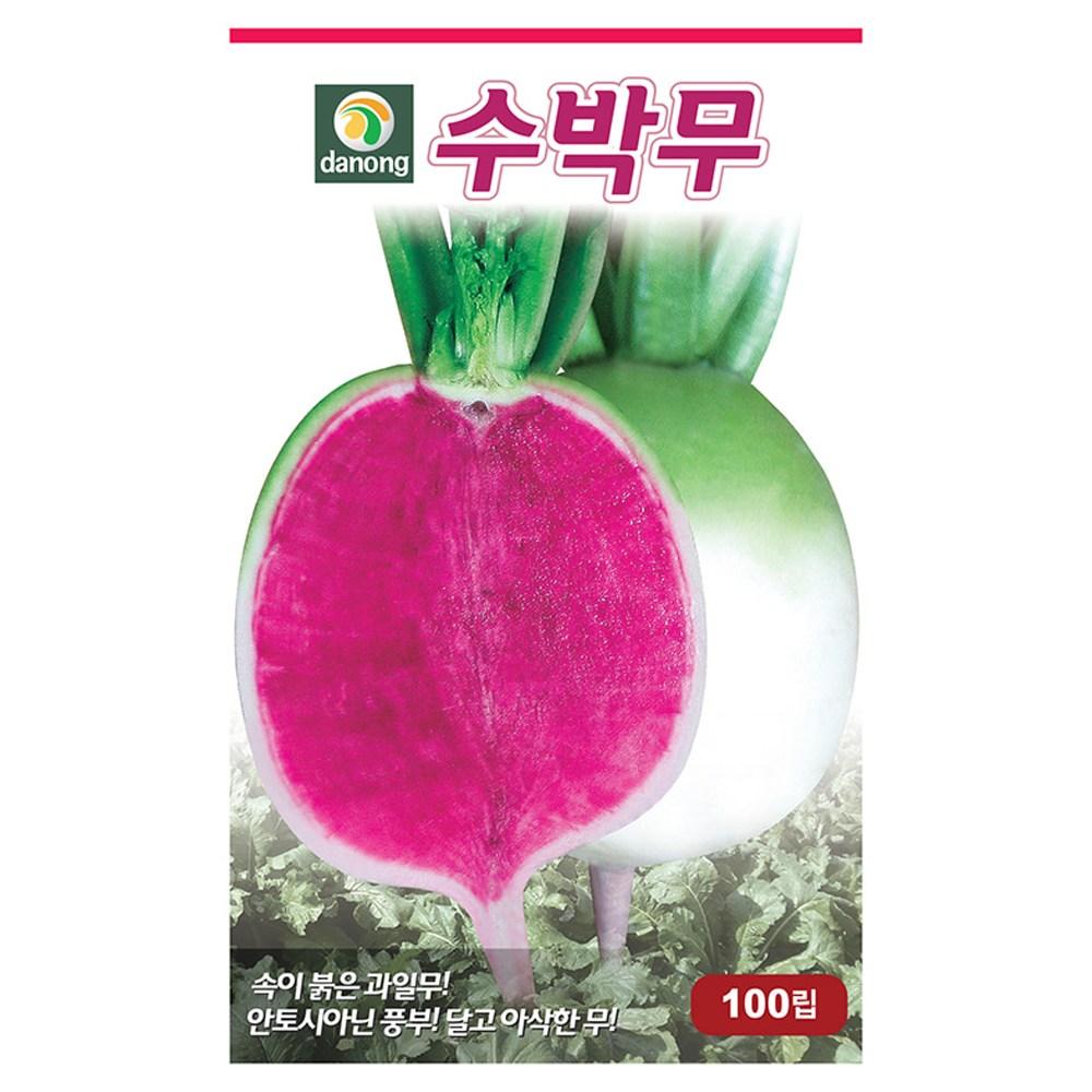 다농 수박무씨앗 100립