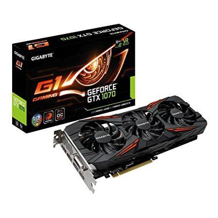 Gigabyte GeForce GTX 1070 G1 Gaming VideoGraphics Cards GV-N1070G1 GAMING-8GD (Renewed) 99999931345, 상세 설명 참조0