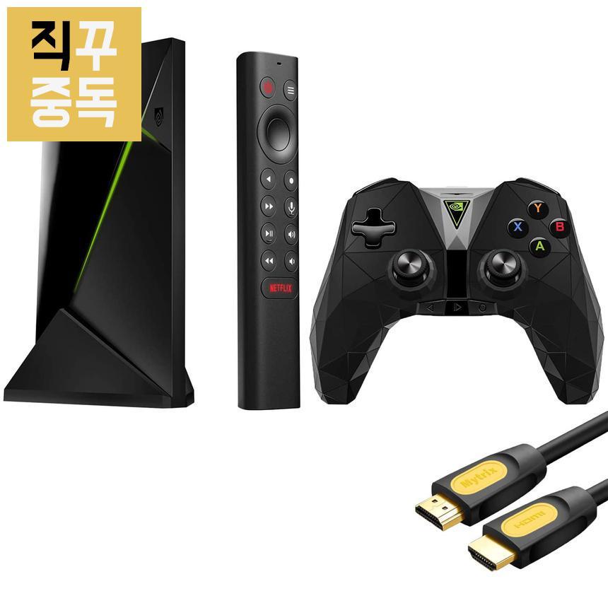 엔비디아 쉴드 프로 SHIELD TV Pro 4K HDR + 컨트롤러, 단품, 단품